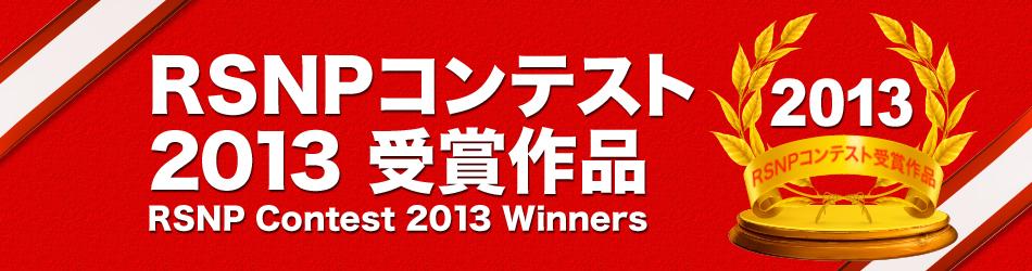 RSNP2013受賞作品
